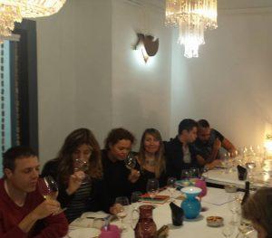 Catando vinos italianos