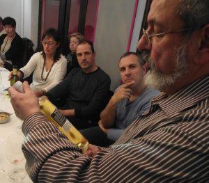 Cata de vinos franceses