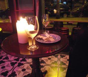 Ambiente acogedor para degustación de vinos