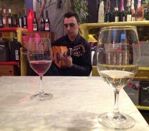 Catas de vino y guitarra clásica