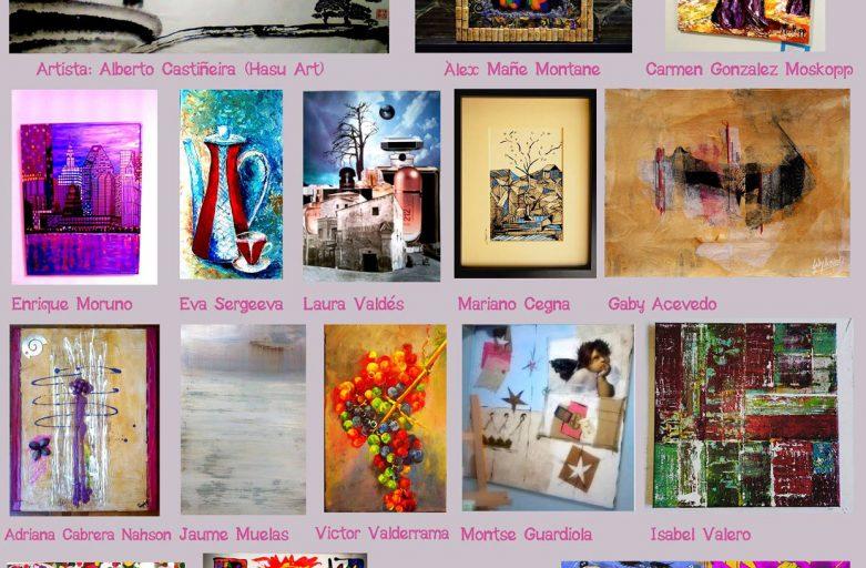 Exposición colectiva : Tradición e innovación (fuente Artplus BCN)