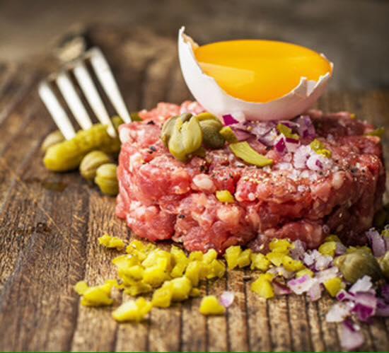 Steak Tartar y vinos del mundo