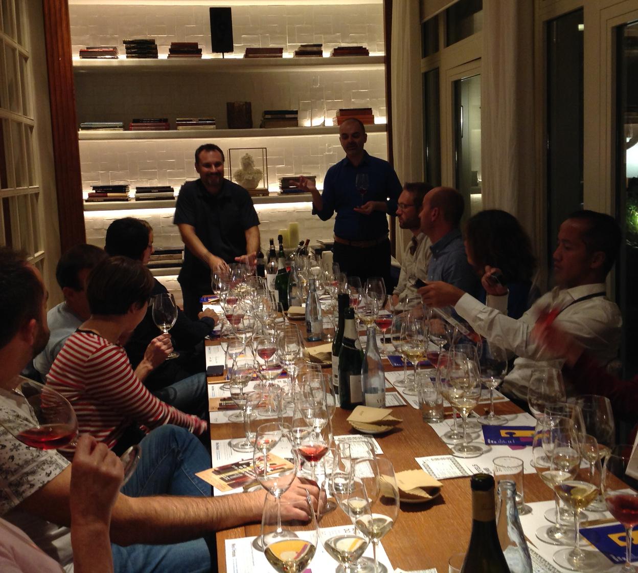 Catando vinos ecológicos