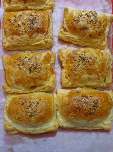Deliciosas empanadas de hojaldre